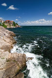 Postcard from Sozopol Royalty Free Stock Photo