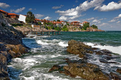 Postcard from Sozopol Stock Photography