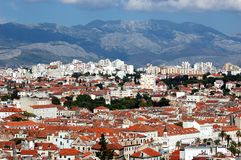 Postcard from Split, Croatia Stock Images
