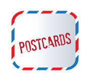 Postcard Text And Letter Stock Photos