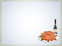 Postcard Thanksgiving Stock Photography