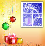 Postcard to Christmas Royalty Free Stock Photo