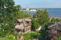 Postcard to Nizhny Novgorod. Russia. Stock Photos