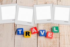 Postcard from travel around the world Royalty Free Stock Photo