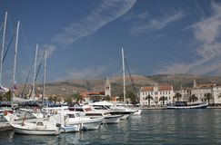 Postcard from Trogir, Croatia Royalty Free Stock Photos