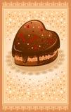 Postcard on Valentine's Day Stock Image