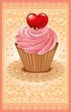 Postcard on Valentine's Day Stock Photo