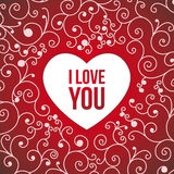Postcard Valentine's Day Royalty Free Stock Photo