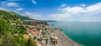 Postcard view of Amalfi Coast, Campania, Italy Stock Image