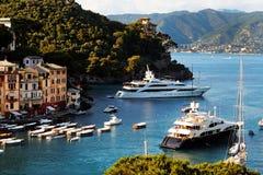 Postcard View Of Portofino Royalty Free Stock Image