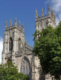 Postcard view of York Minster Stock Photo