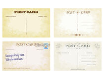 Postcards Royalty Free Stock Images