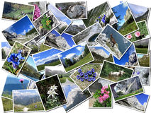 Postcards from Alps Stock Photography