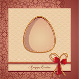 Postcards Easter-EPS10. Imafe of the Postcards Easter (eggs Stock Images
