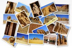 Postcards from Egypt Stock Images