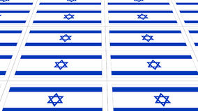 Postcards with Israel national flag Royalty Free Stock Photo