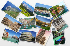 Postcards from Italy Stock Photography