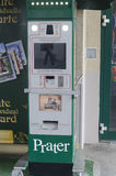 Postcards machine in Prater park, Vienna Royalty Free Stock Photos