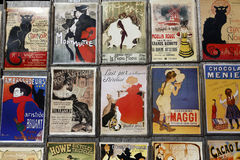 Postcards from Paris, France, August 5, 2015 - Henri de Toulouse-Lautrec Stock Image