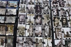 Postcards from Paris Stock Photo