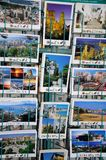 Postcards in rack, Malaga. Stock Photo