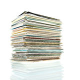 Postcards stack. Royalty Free Stock Image