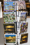 Postcards stand in Vienna Stock Photo
