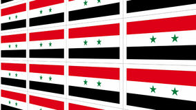 Postcards with Syria national flag Royalty Free Stock Image