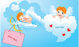 Postcards for Valentines Day Royalty Free Stock Photo