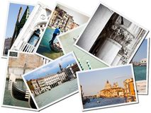 Postcards of Venice Stock Photo