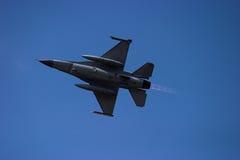 Postcombustore F-16 Immagine Stock
