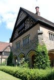 Postdam Germany July 25st 2016 Schloss Cecilienhof is a palace located in Neuer Garten Potsdam, where the Potsdam. Conference took place in 1945 Royalty Free Stock Image
