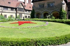 Postdam Germany July 25st 2016 Schloss Cecilienhof is a palace located in Neuer Garten Potsdam, where the Potsdam. Conference took place in 1945 Stock Photos