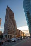 Postdamer街,柏林,德国 免版税库存照片