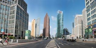 Postdamer Platz, Берлин, Германия Стоковые Изображения RF