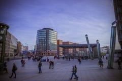 Postdamer Platz, Берлин, Германия Стоковые Изображения