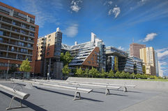 Postdamer Platz. Modern building in the middle of Berlin's financial district Stock Images