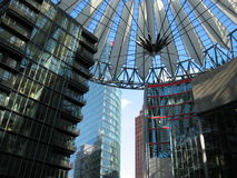 Postdamer Platz Royalty Free Stock Photo
