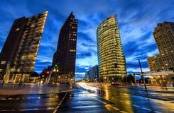 Postdamer Platz in Berlin Lizenzfreies Stockfoto