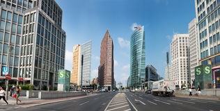 Postdamer Platz, Berlin, Germany Royalty Free Stock Images