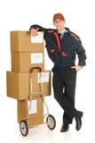 Postdienstanlieferung Stockbild
