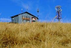 Poste à distance météorologique images stock
