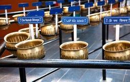 Poste con título de OM Namah Shivaya foto de archivo