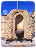 poste d'eau potable photo stock