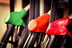 Poste d'essence d'huile Image libre de droits