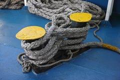Poste de amarração do navio Imagens de Stock Royalty Free