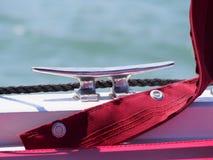 Poste de amarração do navio Fotos de Stock Royalty Free