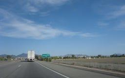 Impulsión de Rivera, Blythe, CA imagen de archivo