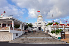 Poste de Flacq, Mauritius. POSTE DE FLACQ. The town centre's main attraction is Hindu temples shown on May 2, 2013, Mauritius. The temple is the venue for Stock Photos