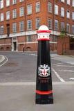Poste de la calle de Londres foto de archivo libre de regalías